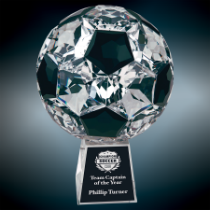 Small Crystal Soccer Ball