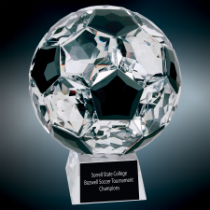 Medium Crystal Soccer Ball